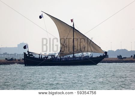 Traditional Arabian Sail Dhow