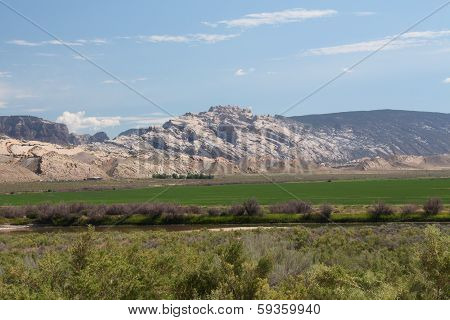 Yampa River And Geologic Formations