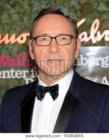 LOS ANGELES - OCT 17:  Kevin Spacey arrives to the Wallis Annenberg Center for the Performing Arts Gala  on October 17, 2013 in Beverly Hills, CA
