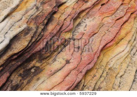 Colourful Ridged Sandstone
