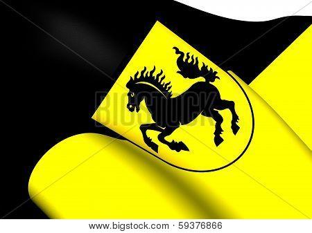 Flag Of Stuttgart