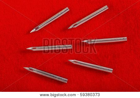 New size 102 pen nibs, perfect for drawing in ink.