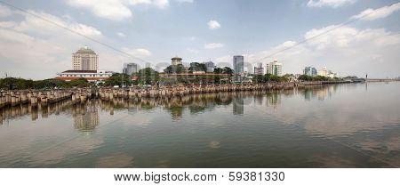 Straits Of Johor Panorama