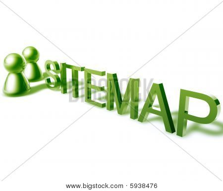 Sitemap Word Graphic
