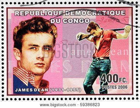 James Dean Stamp