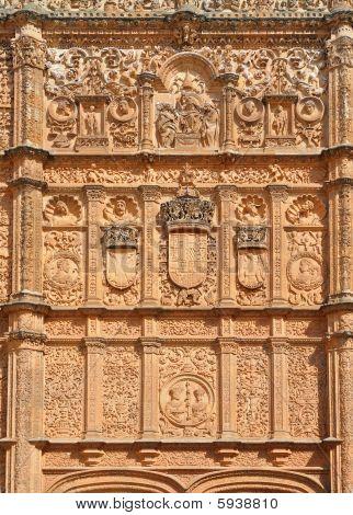 University of Salamanca exterior view Spain