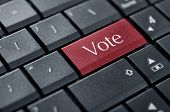 stock photo of voting  - Voting concept - JPG