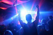 stock photo of rave  - Music Concert - JPG