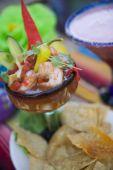 Coctel De Camarones - Mexican Shrimp Cocktail