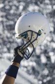 Football Helmet Grunge