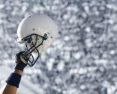Football Helmet at Stadium (XXL)