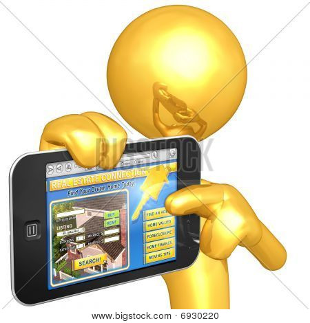 Gold Guy Touch Screen Realty