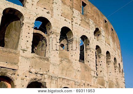 Roman empire colloseum