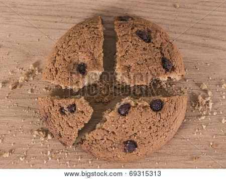 Broken Chocolate Cookie