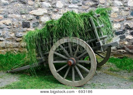 18th Century Hay Cart