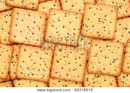 vegetable salty crackers