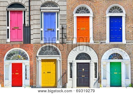 Types of Georgian doors in Dublin