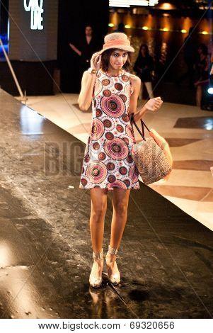 Fashion Show For Nancy Naguib Model 09