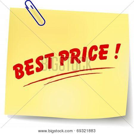 Vector Best Price Message