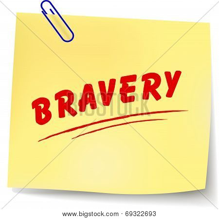 Vector Bravery Message