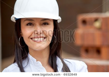 Female Architect Portrait