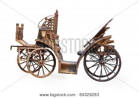 Vintage Metal Carriage