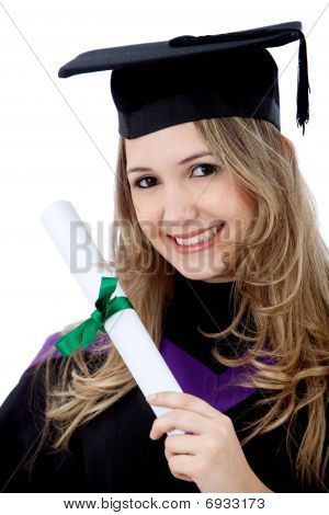 Graduated Woman