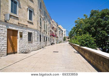 Alleyway. Bari. Puglia. Italy.