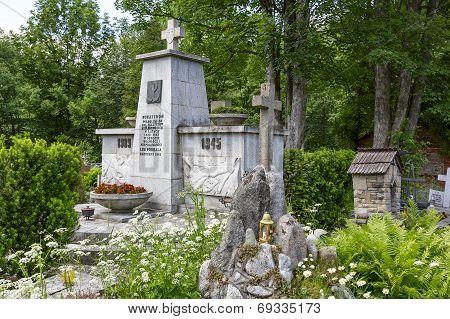 Monument To The World War Ii Victims In Zakopane