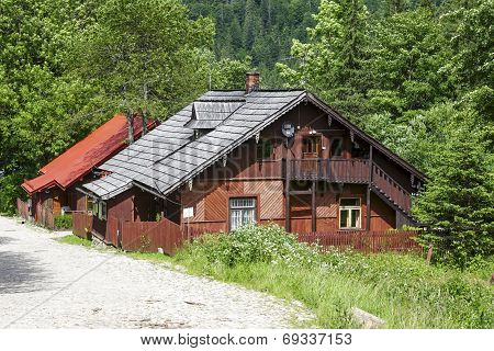 Forester House In Kuznice, District Of Zakopane