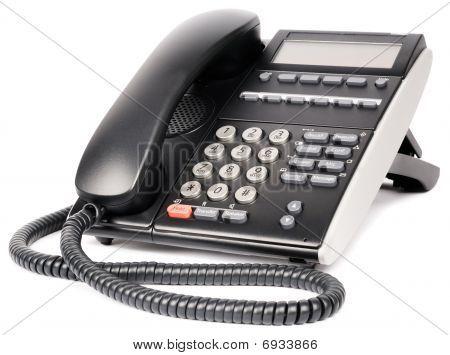 Digital Telephone Over White