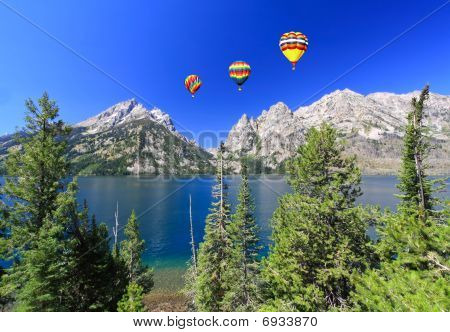 The Jenny Lake In Grand Teton