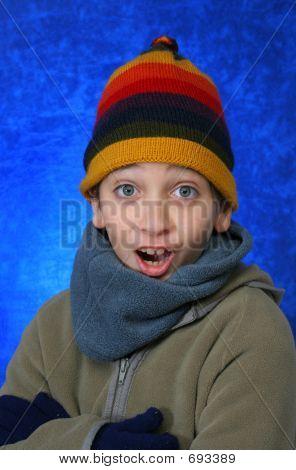 Boy Doing Fun Expression