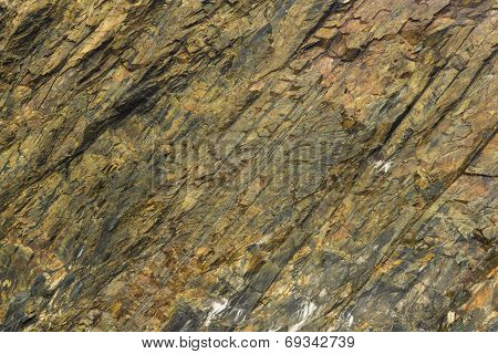 Slate Rock Face, Texture Background