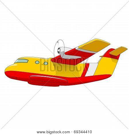 Firefighter aircraft