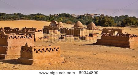 Old Part (citadel) Of Desert Town Mut In Dakhla Oasis In Egypt,
