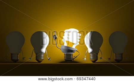 Various Light Bulbs, Moment Of Insight