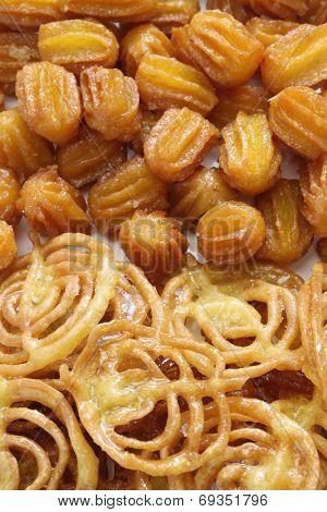 zoolbia & bamieh, iranian sweets