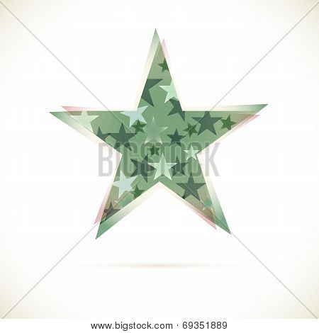 Sphere Abstract vector design template star
