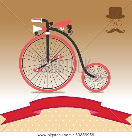 Vintage Bicycle Illustration