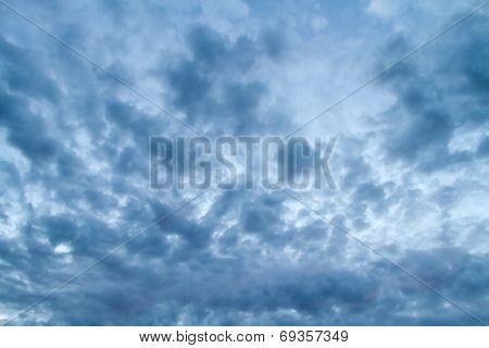 Dramatic Stormy Sky.