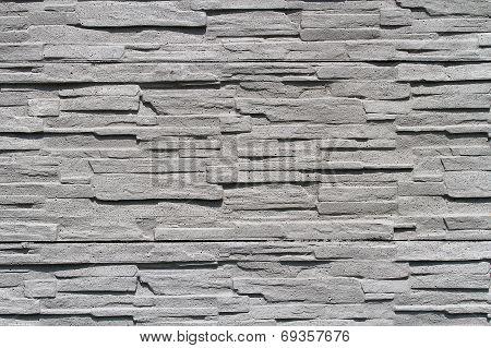 Gray Stone Wall