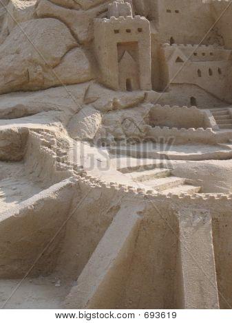 Narnia Sand Castles Closeup @ Singapur