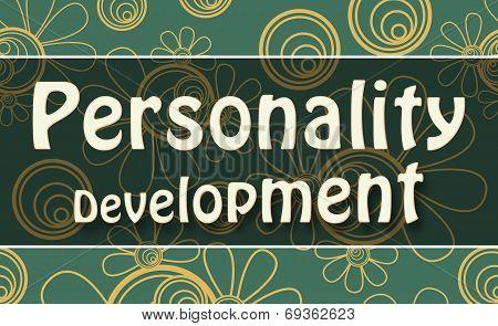 Personality Development Green Golden