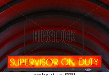 Supervisor On Duty