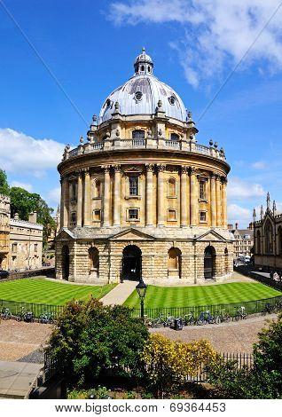 Radcliffe Camera, Oxford.