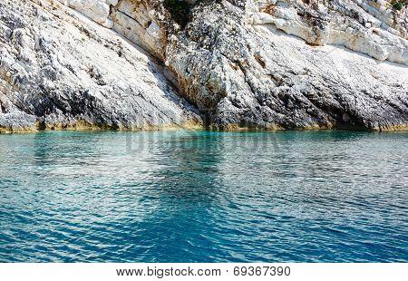 Summer Kefalonia Coast View (greece)
