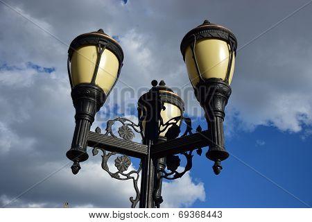 A beautiful lantern sunlit