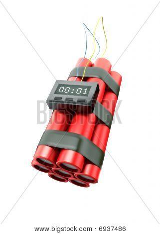 Bomb ready to explode