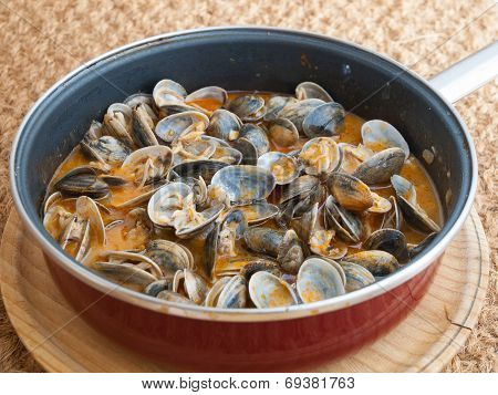 Clams Cooked In The Recipe